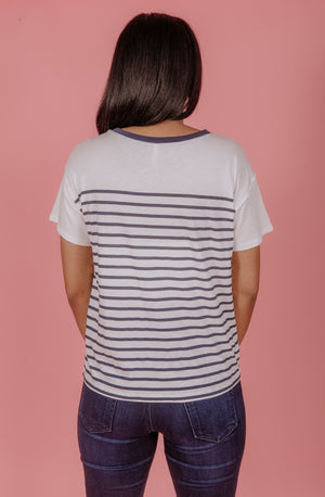 Z SUPPLY FIORE STRIPED TEE