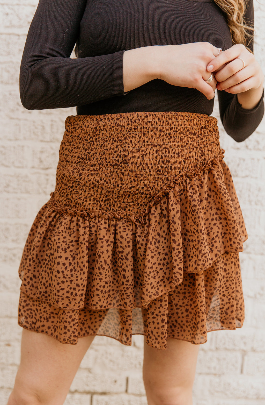 CHASING YOU CHEETAH SKIRT