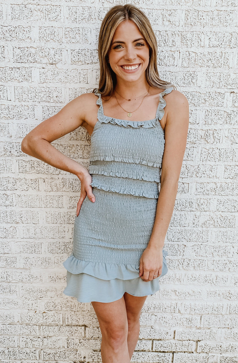 SMOCKED TO PERFECTION TANK