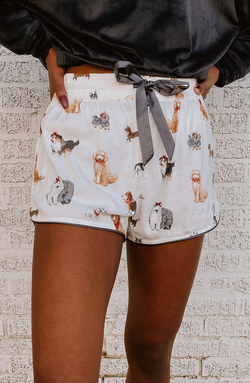 Z SUPPLY SWEET TALKER PUP SHORTS
