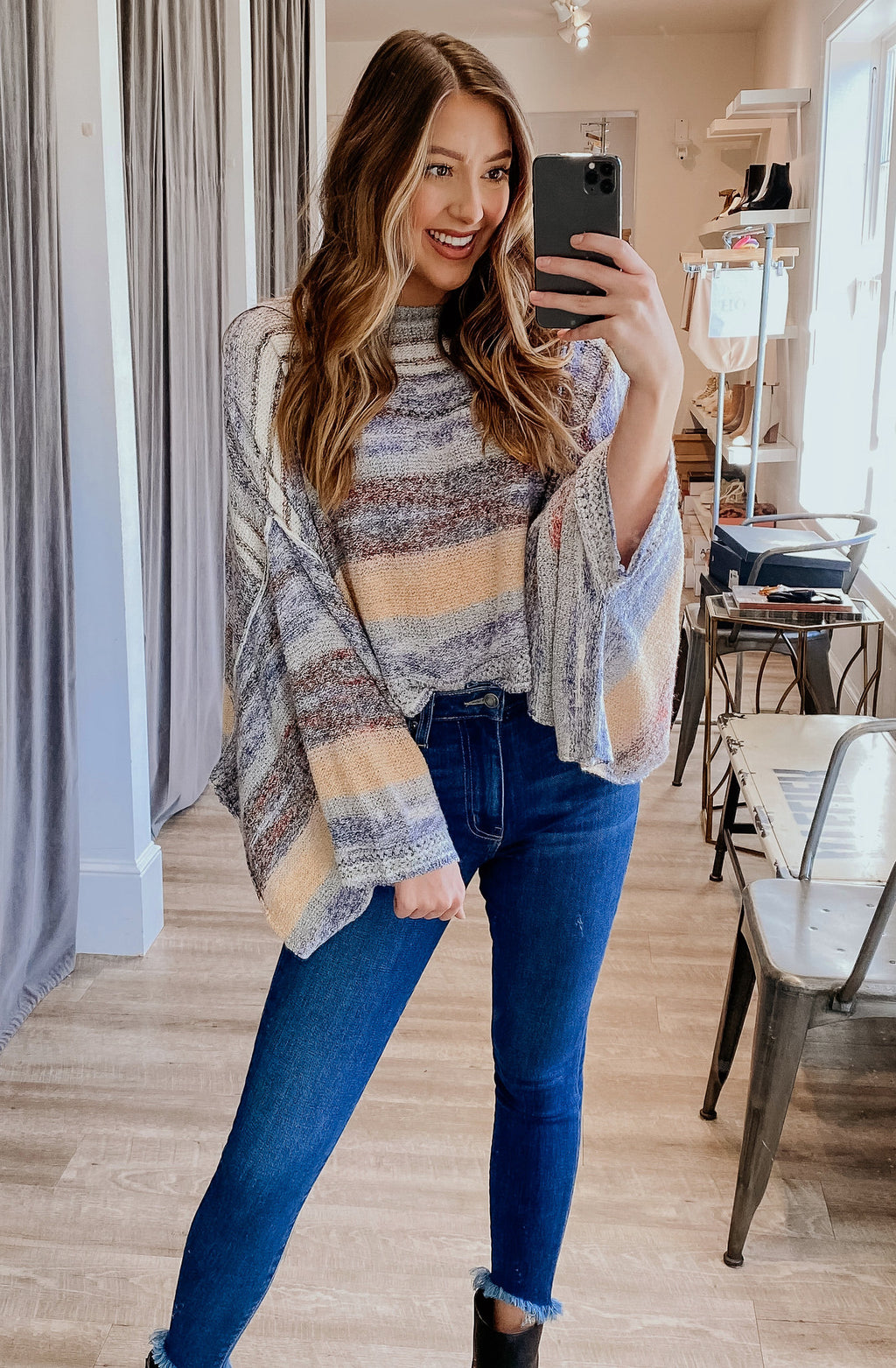 FREE PEOPLE SATURN PONCHO