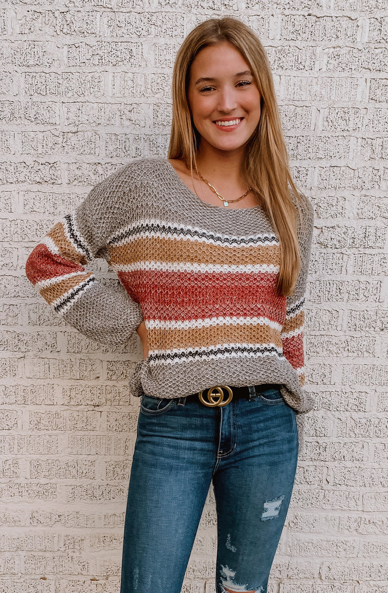 SEVILLE STRIPED SWEATER
