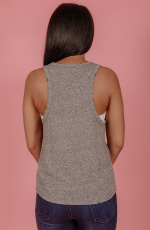Z SUPPLY TRIBLEND RACER TANK