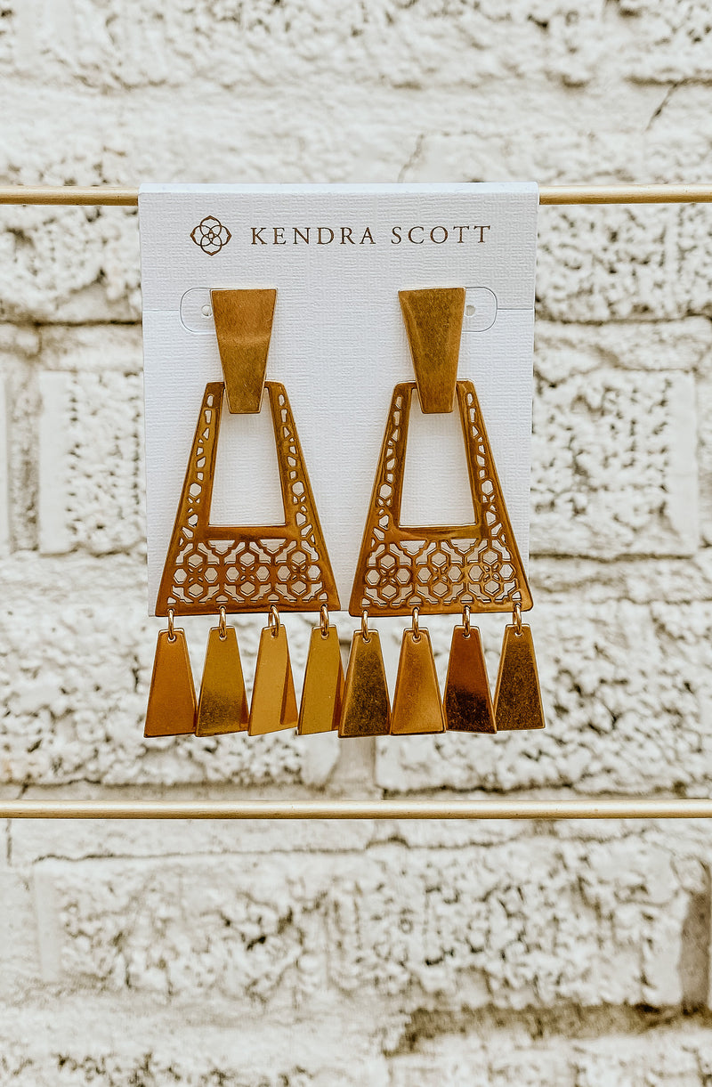 KENDRA SCOTT KASE SMALL EARRINGS