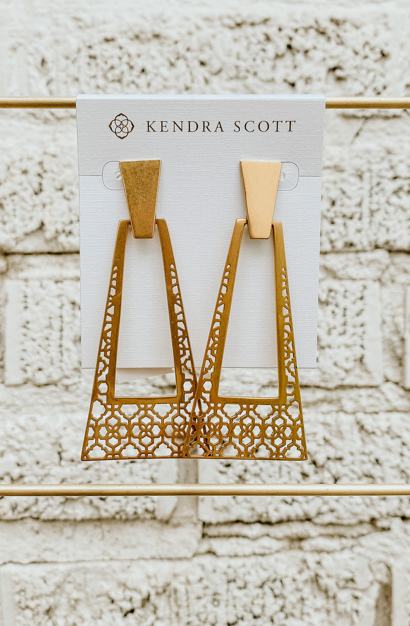 KENDRA SCOTT LARGE STATEMENT EARRING