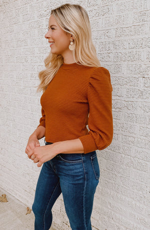 CHLOE KNIT BLOUSE