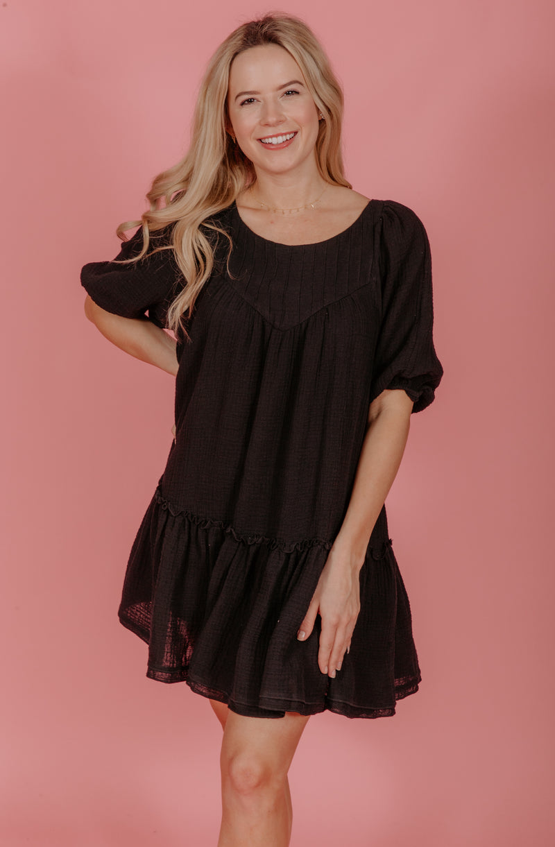 SWEET BABYDOLL MINI DRESS