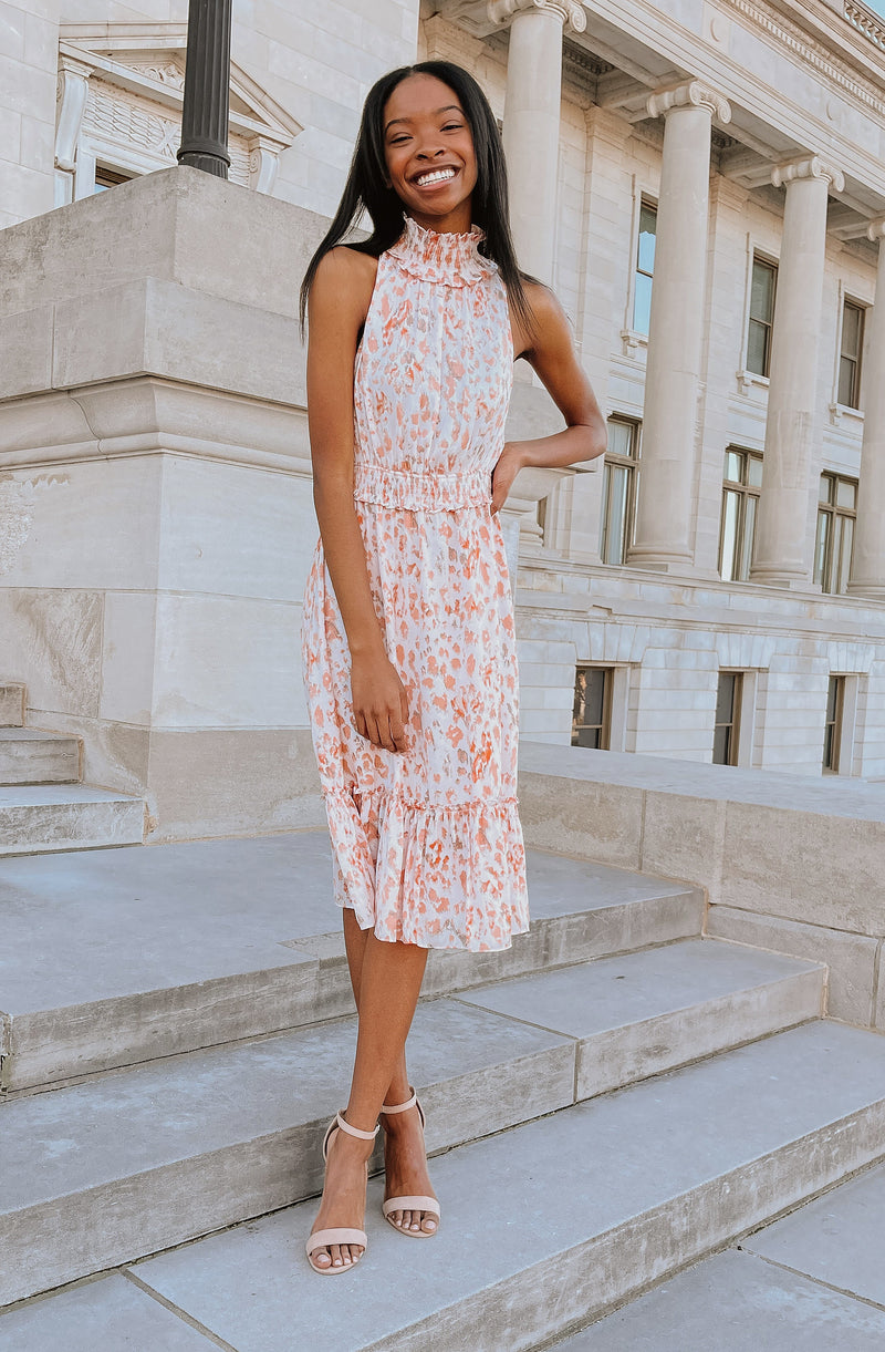 LOVING ENDEAVOR MIDI DRESS