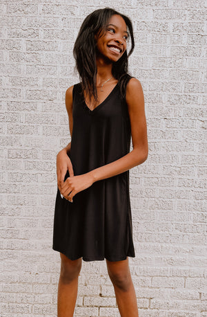 THROW AND GO T SHIRT DRESS