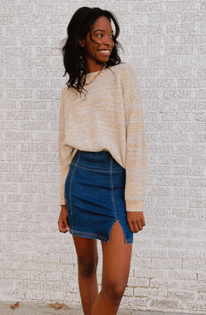 FREE PEOPLE HOLDING ONTO A DREAM MINI SKIRT
