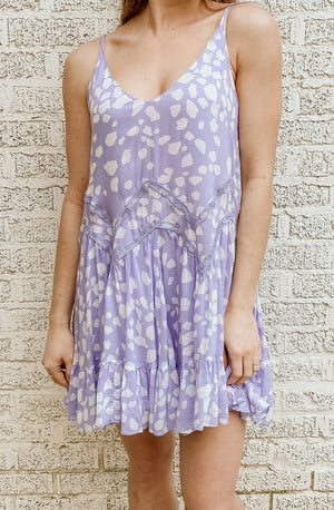 LILAC LADY MINI DRESS