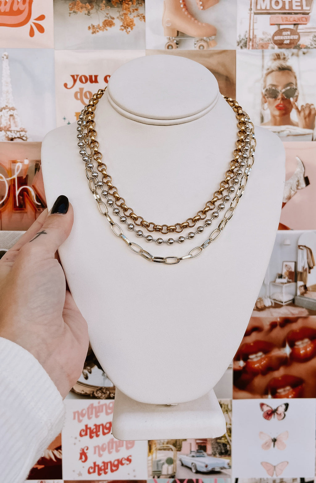 KENDRA SCOTT BRYLEE MULTI STRAND NECKLACE