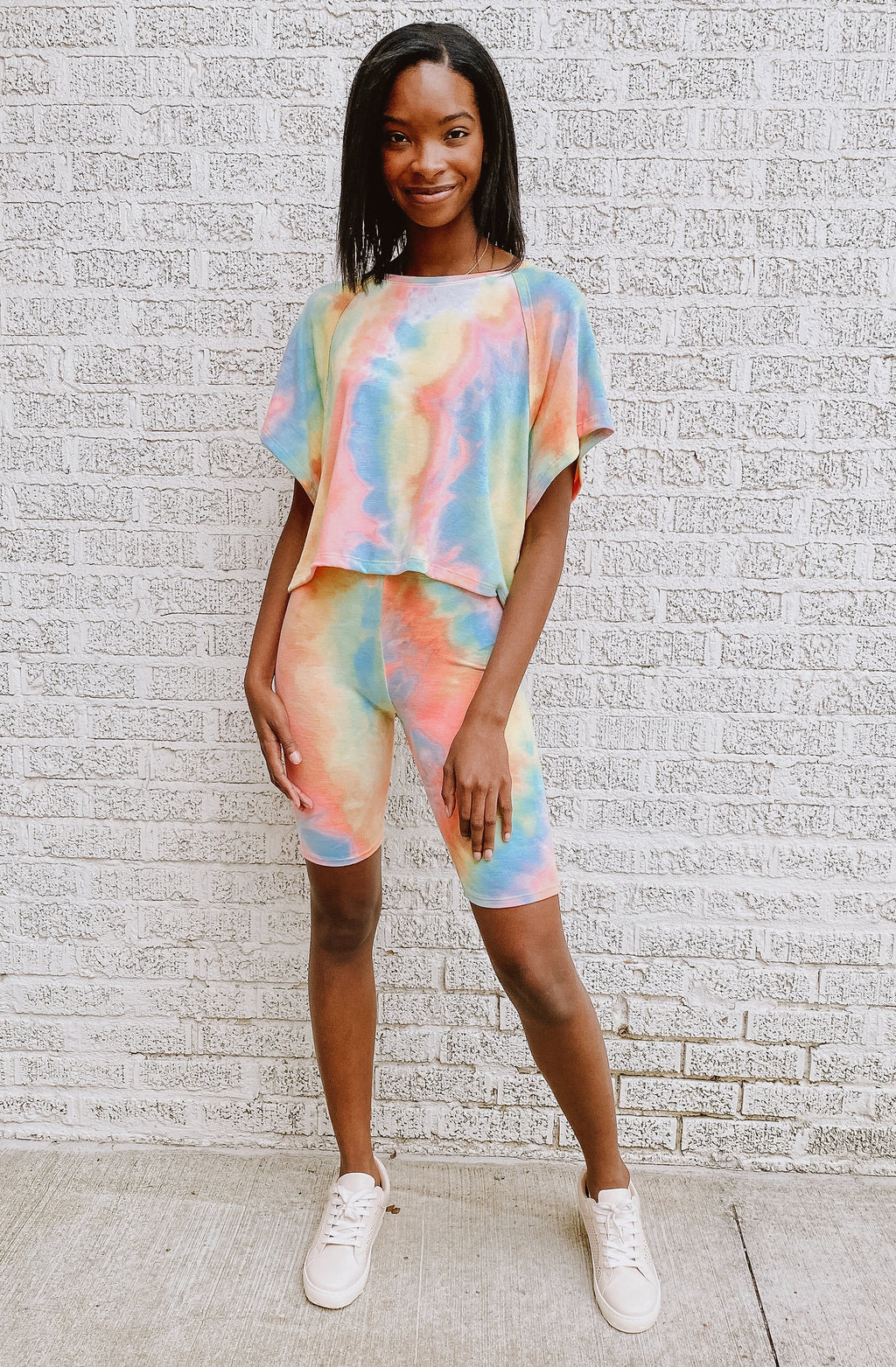 TIE DYE KOOLAID SET TOP
