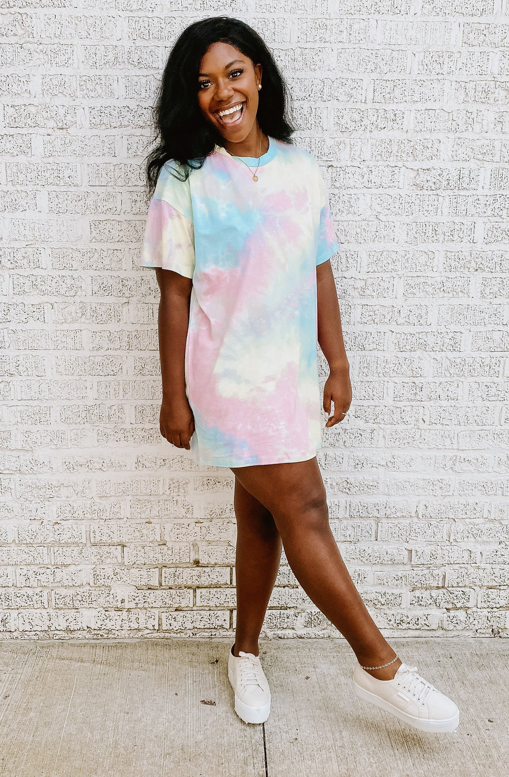 WHAT'S THE GROOVE T-SHIRT DRESS