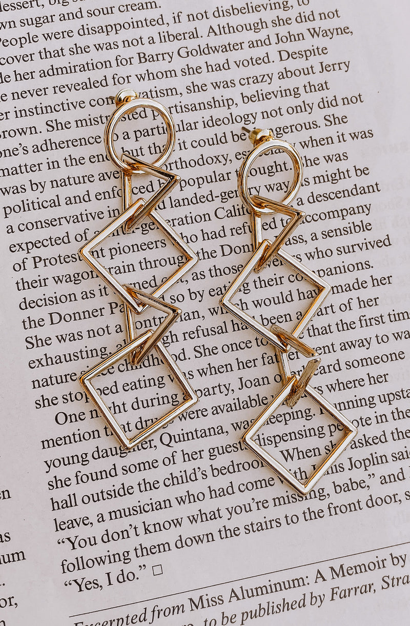 IN BETWEEN DIMENSIONS EARRINGS