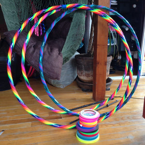 Infinite Rainbow Travel Hoop