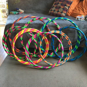 XL 4ft Collapsable Infinity Hoop