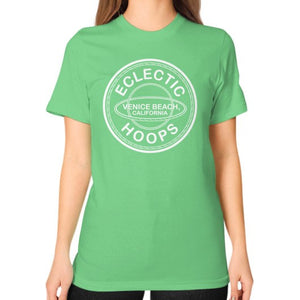 Unisex T-Shirt (on woman) Grass - EclecticHoops.com