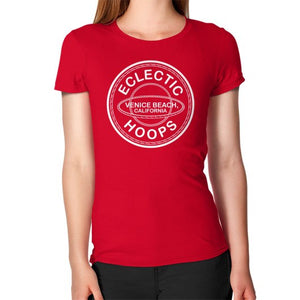 Women's T-Shirt Red - EclecticHoops.com