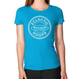 Women's T-Shirt Teal - EclecticHoops.com