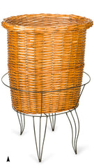 Oval Display Basket on Stand