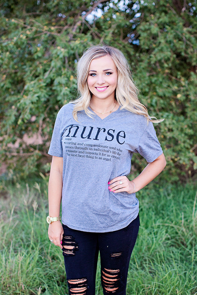 Webster Nurse Tee