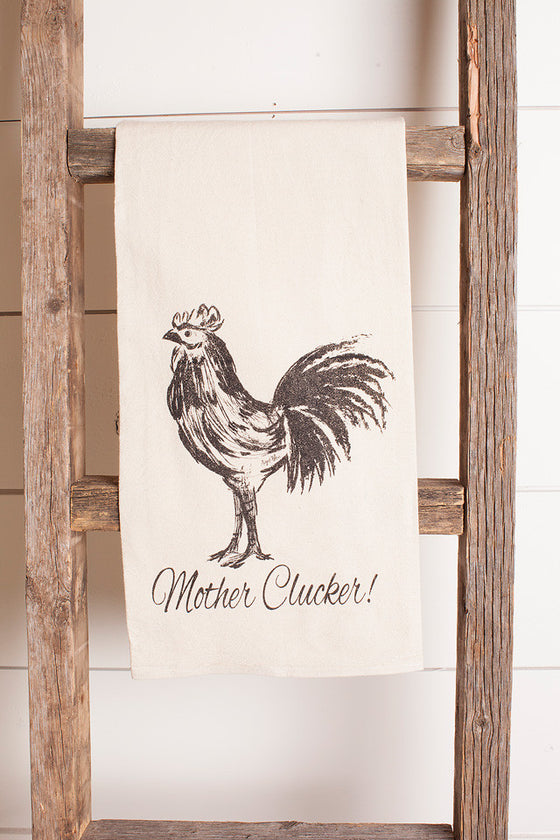 Tea Towel Mother Clucker