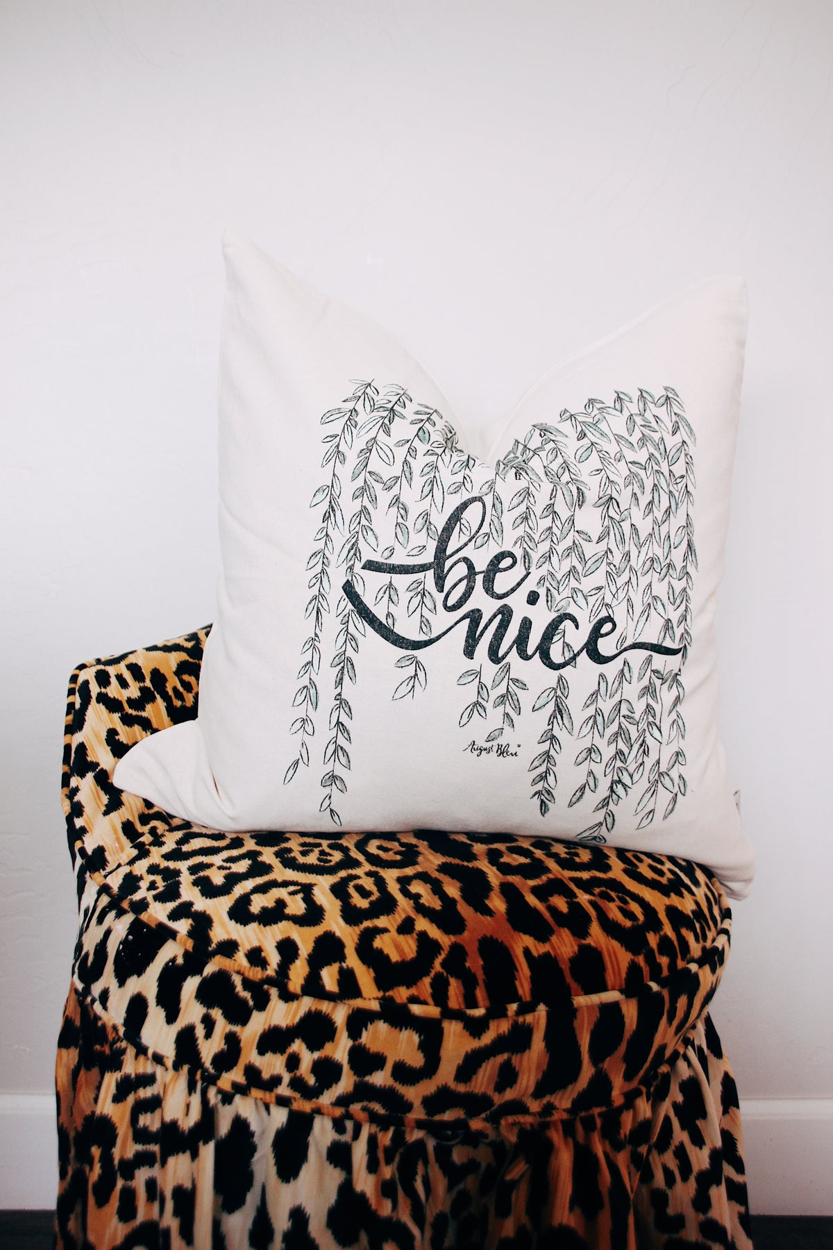 Be Nice Pillow Cover
