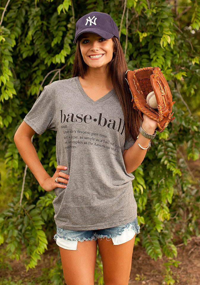 Webster Baseball Tee