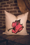 Red Currant Leaf Pillow Cover