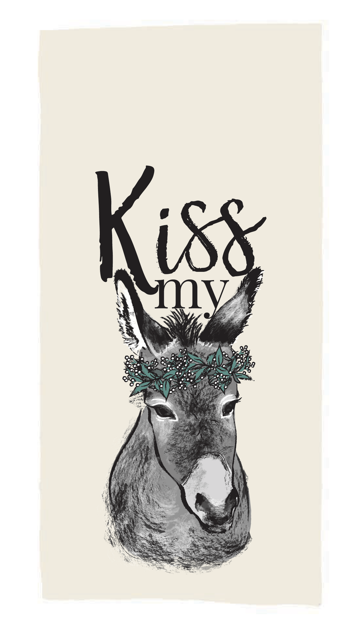 Kiss my ... Tea Towel