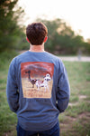 Longhorn Scene - long sleeve