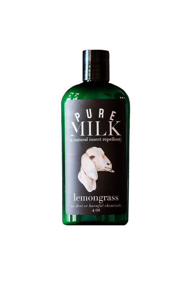 Pure Milk {a goat lotion} - 4 oz Insect Repellent