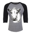 Bessie the Cow-Raglan