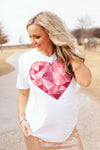 Prism Heart White Short Sleeve