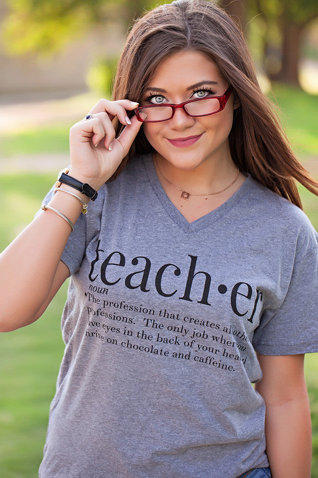 teacher webster tee