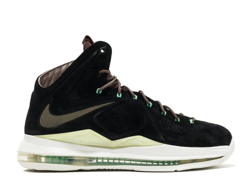 "Nike Lebron 10 EXT QS ""Black Suede"""