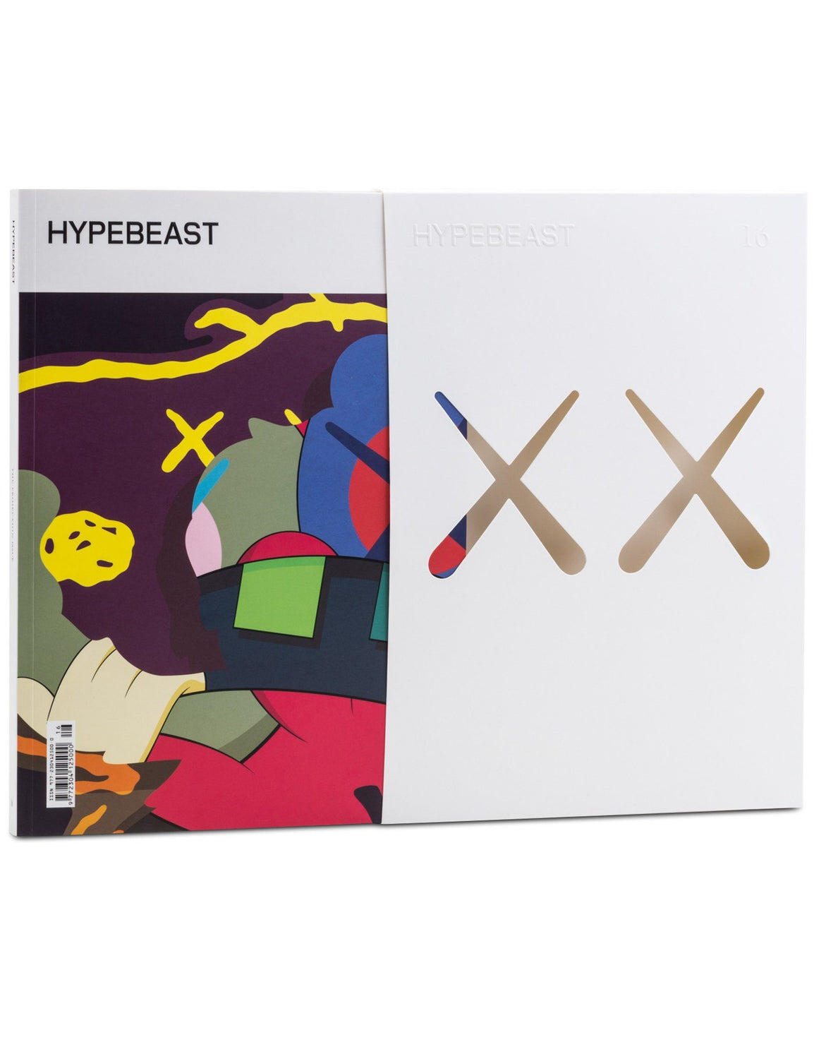 KAWS Cover HYPEBEAST Magazine - White Cover