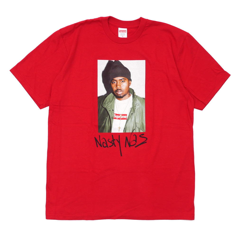 Supreme Nasty Nas Tee Red