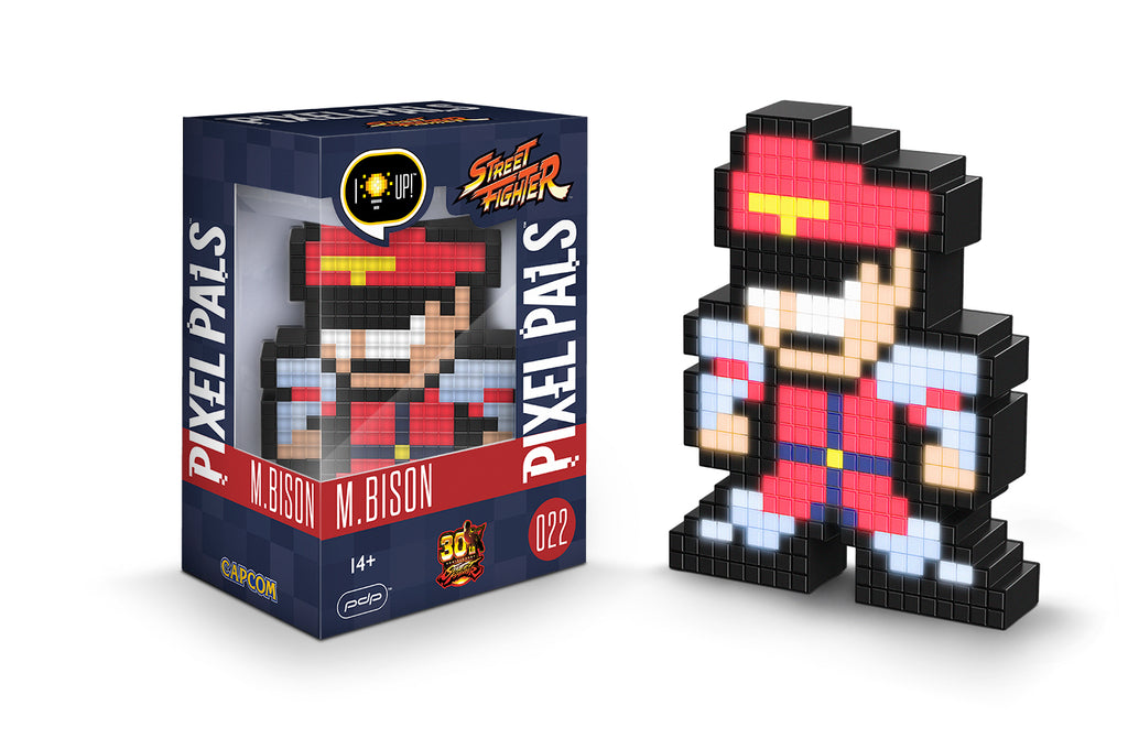 M. Bison - Pixel Pals Street Fighter