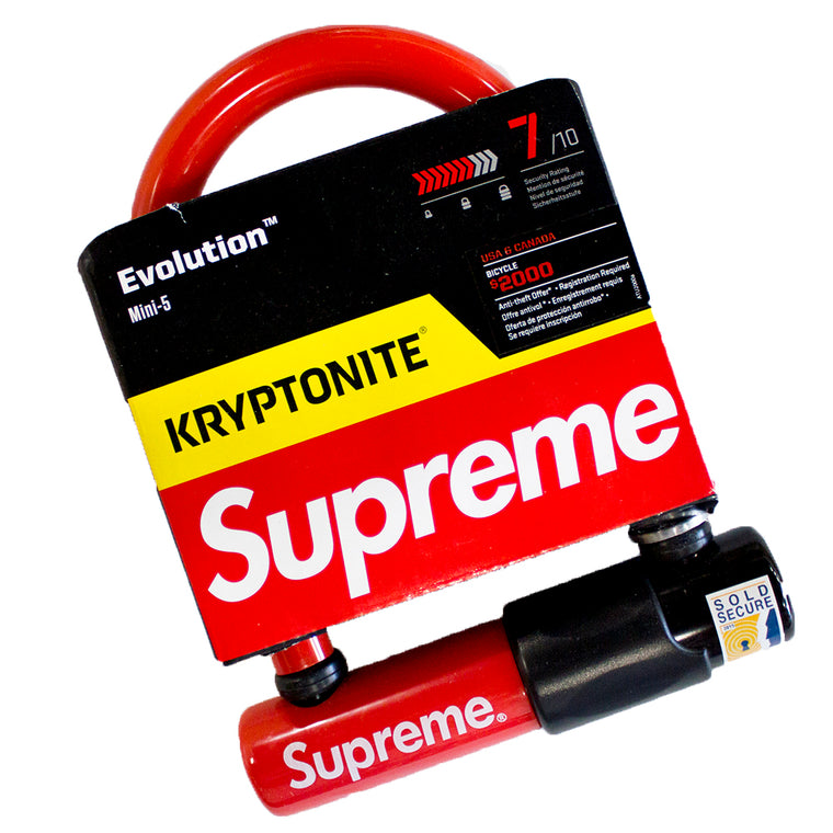 Supreme Kryptonite U-Lock