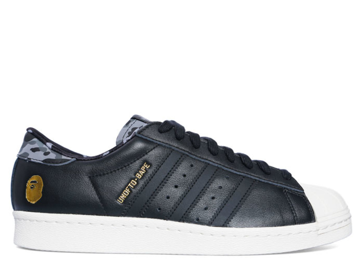 "Adidas Superstar 80v ""Undefeated x Bape"""
