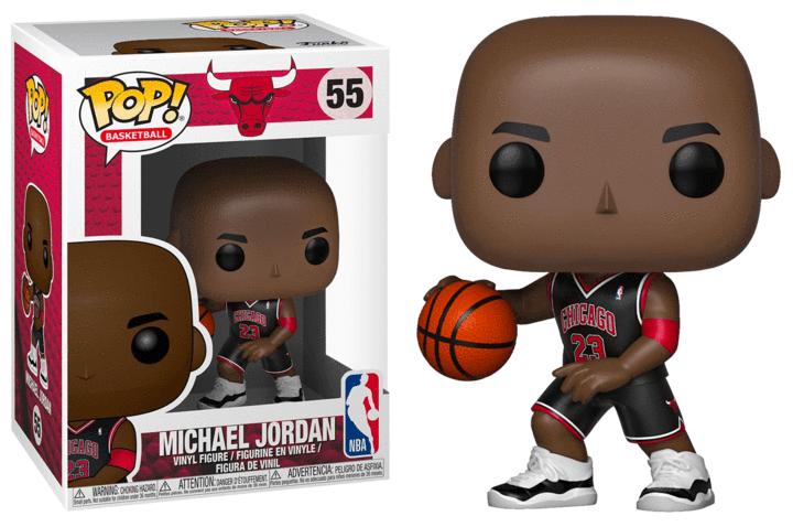 Michael Jordan POP! Vinyl Figure - Bulls Black Jersey