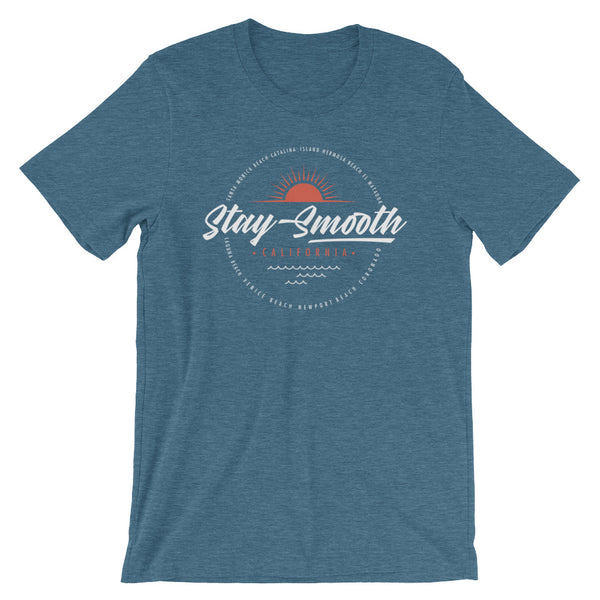 Stay Smooth Sun Logo - Short-Sleeve Unisex T-Shirt (SJS Exclusive)