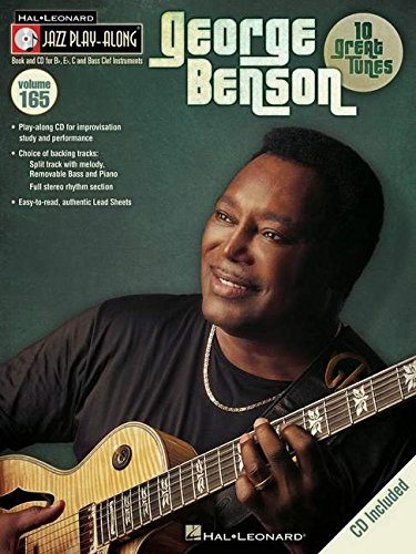 George Benson - Jazz Play-Along Volume 165 (Book/CD) (Hal Leonard Jazz Play-Along)