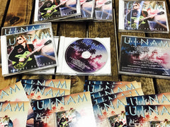 U-Nam | Groove Paradise Remixes E.P | Signed Collector CD + Postcard | Very Limited Quantity | Only 15