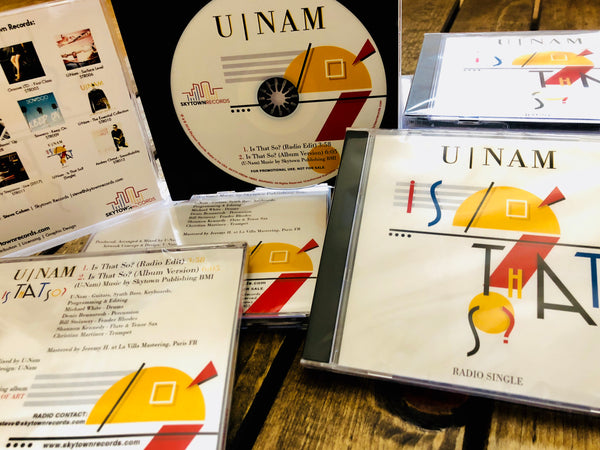 U-Nam | Is That So? | Signed Collector CD Single + Postcard | (SJS Exclusive)
