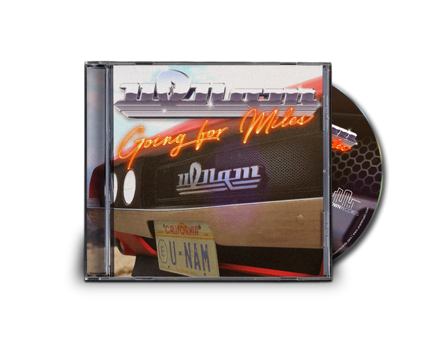 U-Nam | Going for Miles | Collector CD Single + Postcard | Very Limited Quantity | 5 Left