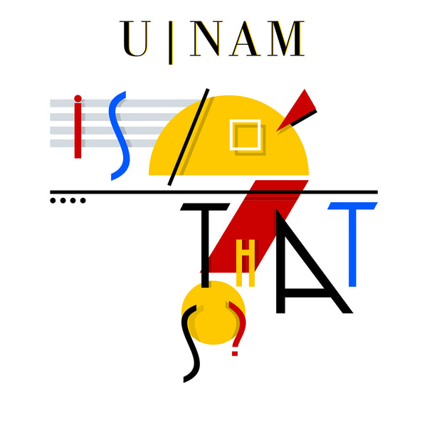 U-Nam - Is That So? E.P - CD Quality (16bit/44.1K) WAV Files (SJS Exclusive)