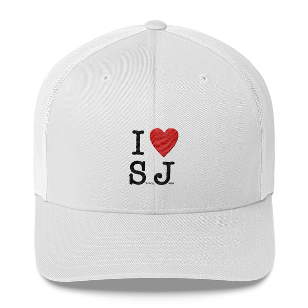 I Love Smooth Jazz - Retro Trucker Cap (SJS Exclusive)